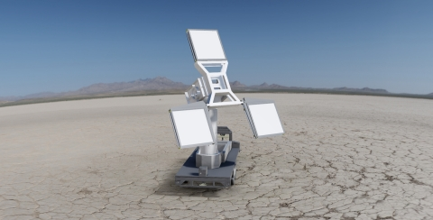 Military test and evaluation ranges can use BAE Systems' new iMOTR™ to provide a higher degree of accuracy in tracking time, space, and position information for objects in flight. (Photo: BAE Systems)