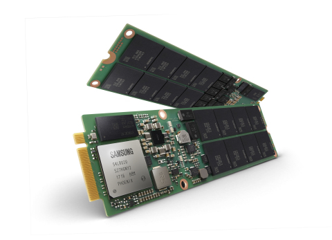 Samsung NGSFF SSD (Photo: Business Wire)
