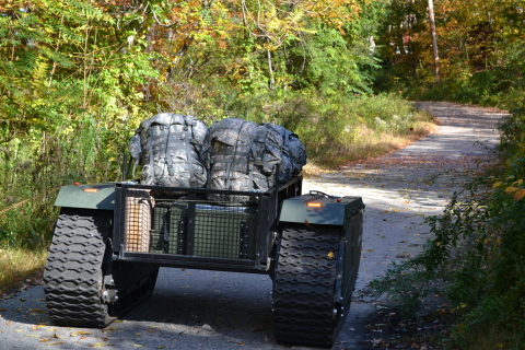 The Titan will carry all the supplies warfighters need and have had to carry themselves so far. (Photo: Business Wire)