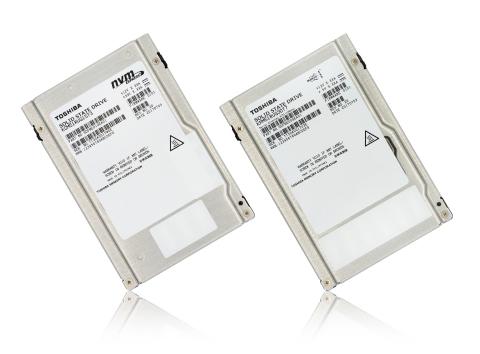東芝メモリ株式会社:64層積層プロセスを用いた3次元フラッシュメモリを搭載した業界初のエンタープライズ向けSSD(写真:ビジネスワイヤ)