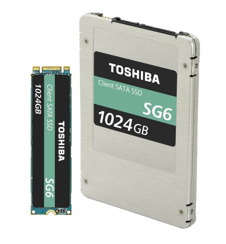 Toshiba Memory Corporation: SATA Client SSD SG6 Series (Photo: Business Wire)