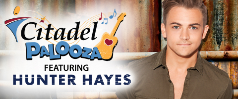 "Citadel, one of the largest credit unions in Pennsylvania, is sponsoring ""Citadel Palooza"" featuring headliner and country superstar Hunter Hayes. (Graphic: Business Wire)"