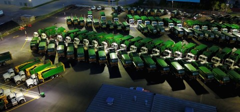 Waste Management Oklahoma City Compressed Natural Gas Fueling Station (photo credit: ET Environmenta ...