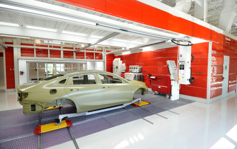 Axalta's Master Certification in Refinish is earned exclusively at its Customer Experience Center in Concord, North Carolina.  (Photo: Axalta)