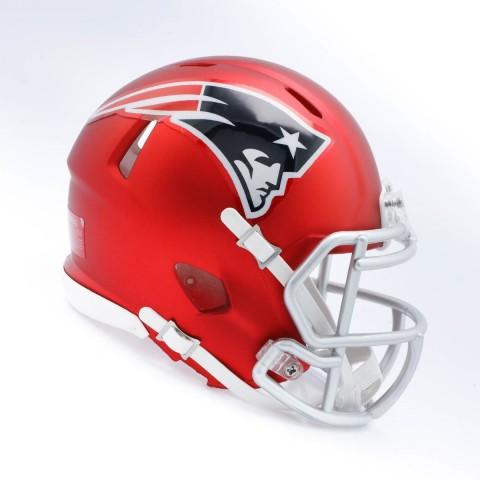 New England Patriots Blaze Alternate Speed Replica Helmet (Photo: Business Wire)