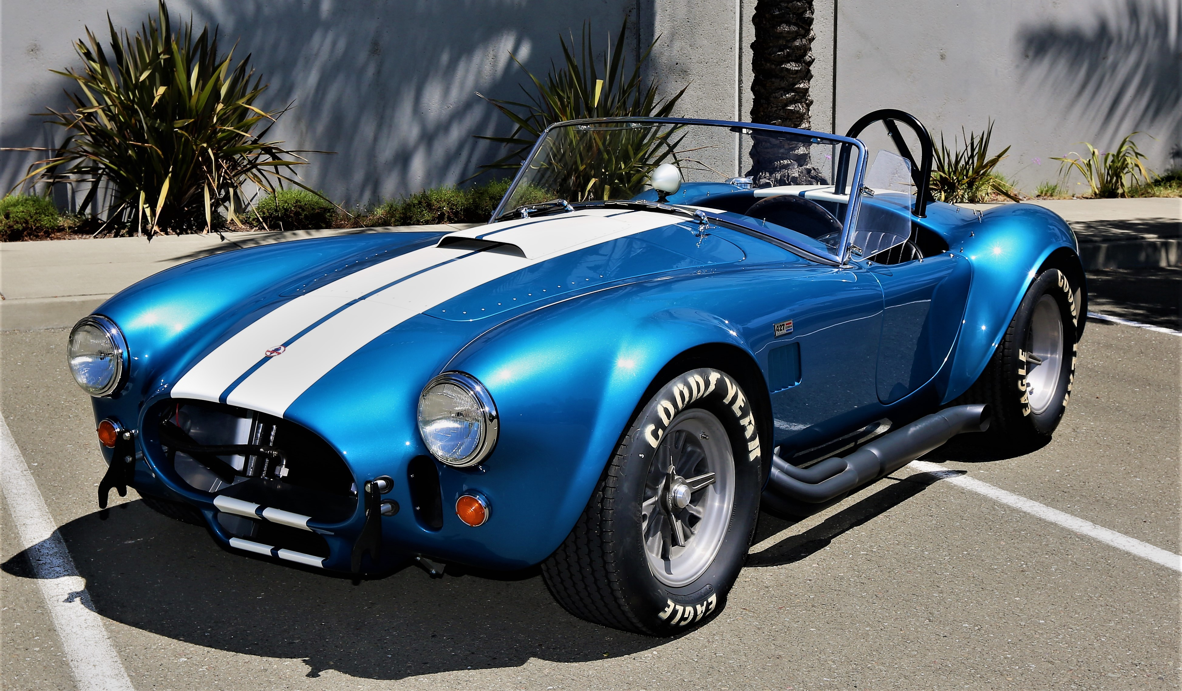 Genuine 427 shelby competition cobra racecar production goes full throttle business wire