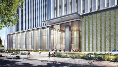 Building entrance (image) (Graphic: Business Wire)