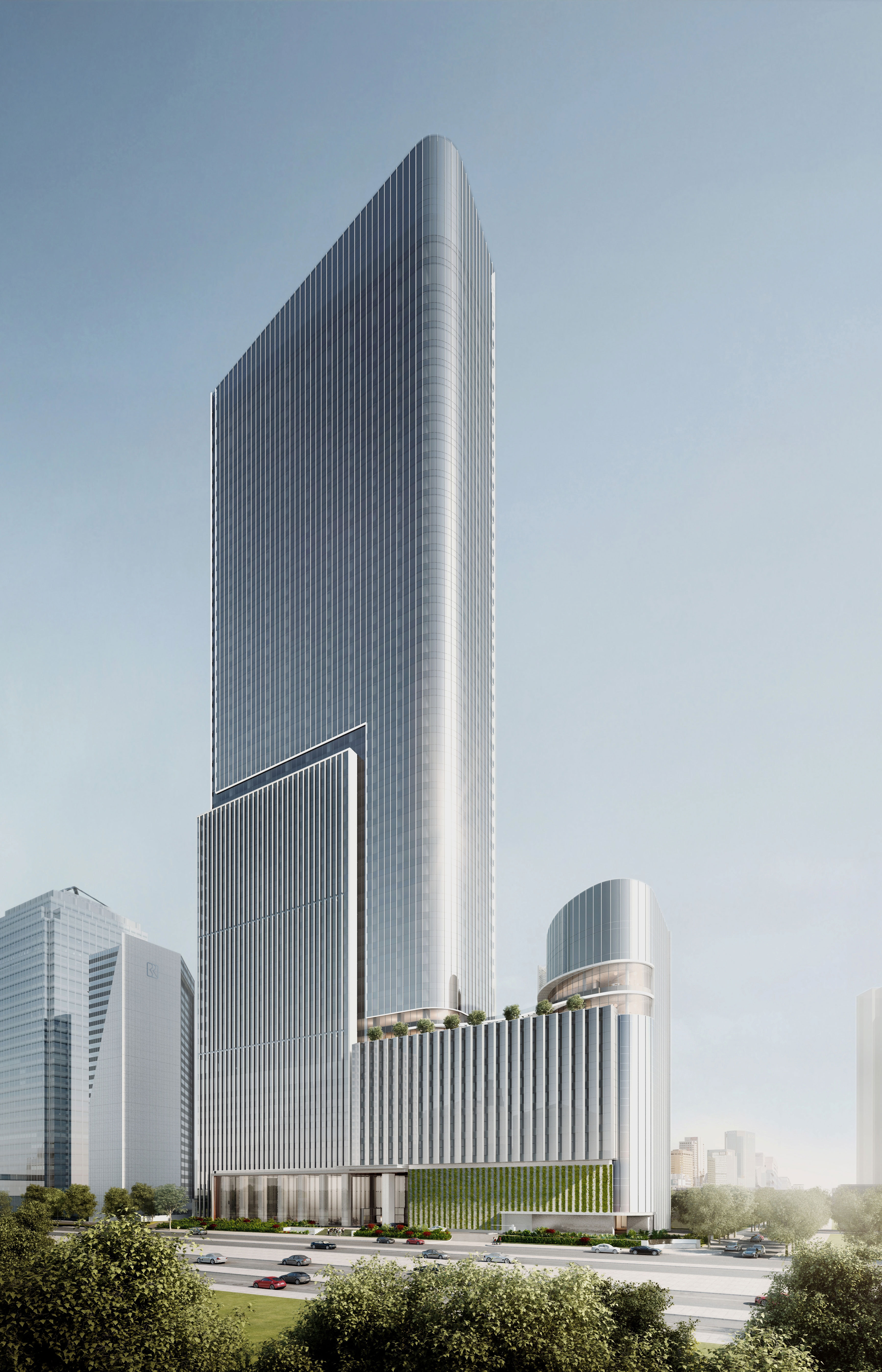 Entrance Design Mori Building Launches Construction Of Office Tower In