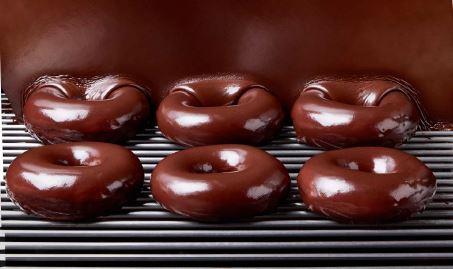 Krispy Kreme's Chocolate Glazed Doughnut. (Photo: Business Wire)