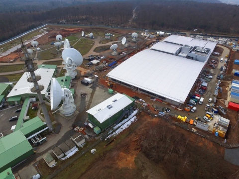 Enterprise SATCOM Gateway Landstuhl (ESG-L) facility, the largest Army-operated SATCOM facility outside the continental U.S. (Photo: Business Wire)