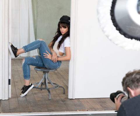 Camila Cabello is the new face for SKECHERS global marketing campaign launching Fall 2017 (Photo: Bu ...