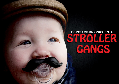Tom Skerritt's Heyou Media comedy web series, Stroller Gangs is now available on Amazon Prime Video (Photo: Business Wire)