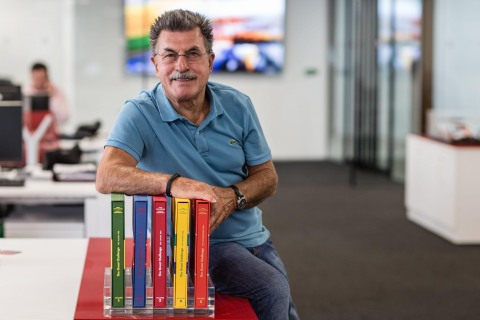 Legendary German photographer Rainer W. Schlegelmilch's remarkable photo archive of more than 600,000 historic motorsport images has been acquired by Motorsport Network - the world's biggest motorsport media organisation. (Photo: Business Wire)