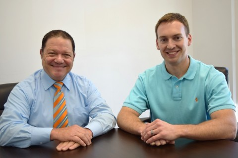 From left to right: J Louis Schlegel IV, Sintavia's Global Vice President of Sales, and Rick Clark, Sintavia's Vice President of Operations. (Photo: Business Wire)