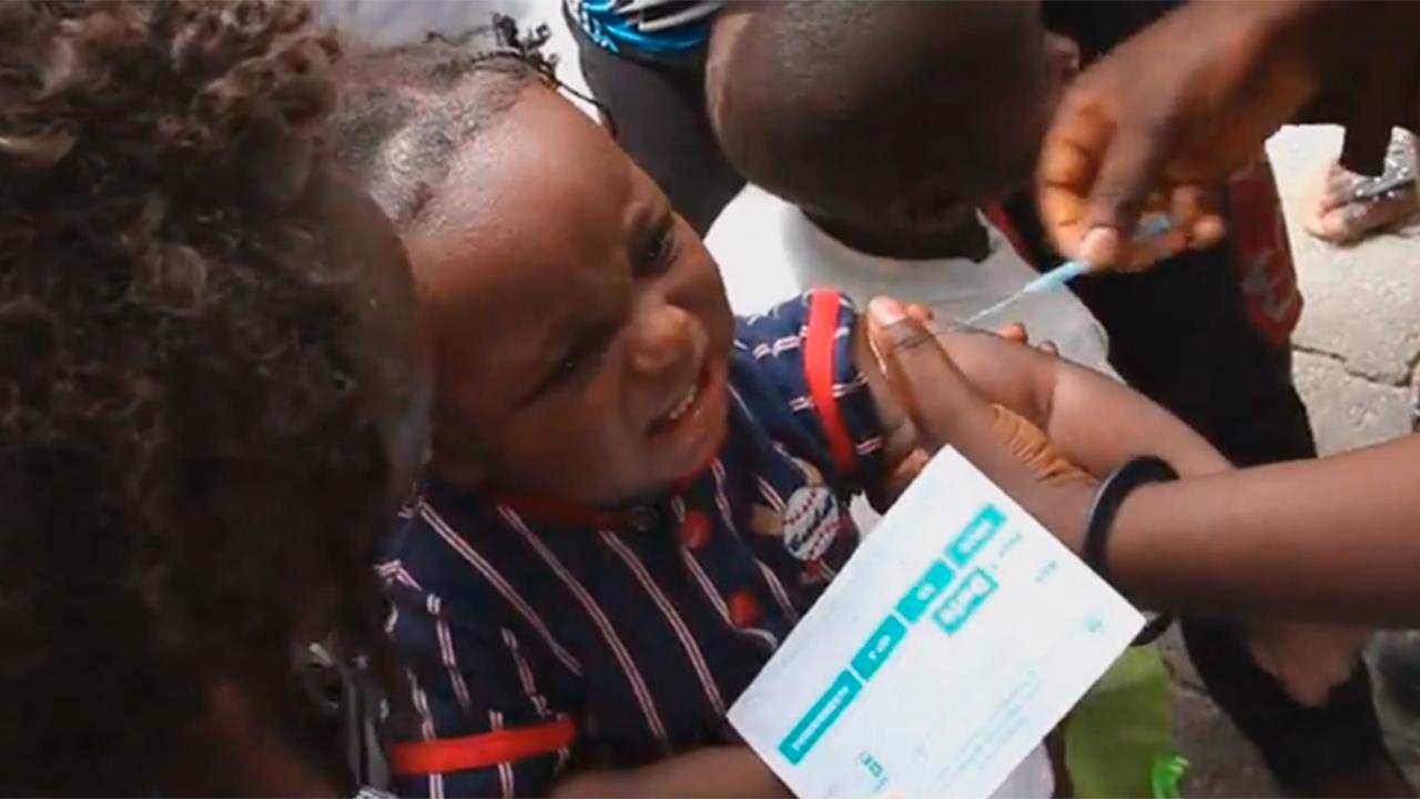 No Pricks - Vaccine Development (Video: Business Wire)