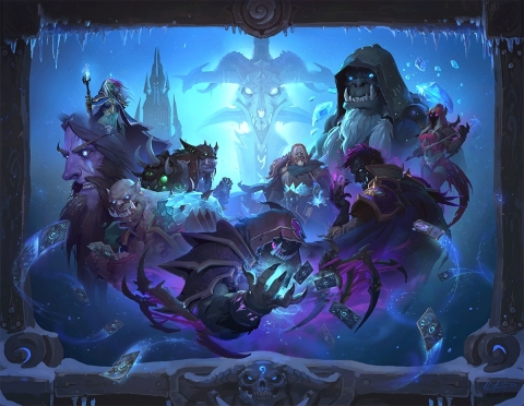 Become a Death Knight and conquer the Lich King, and collect 135 frosty new cards in Knights of the  ...