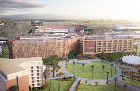 Arizona State University and American Campus Communities Unveil New 'Residence Hall Built for Engineers' (Photo: Business Wire)