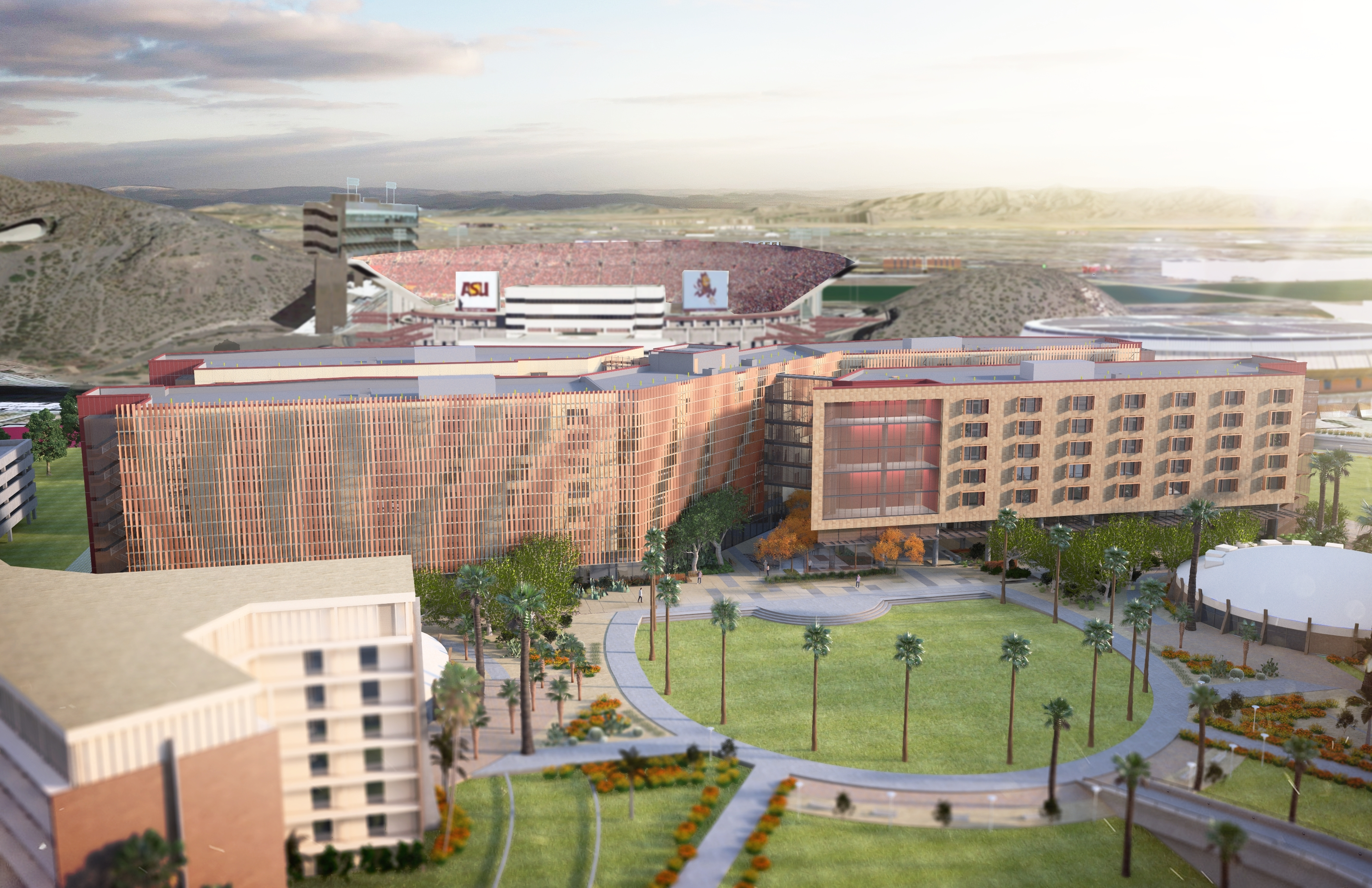 Arizona State University and American Campus Communities