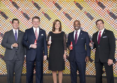 Chris Marinac, Atlanta RMHC Board; Rich DeAugustinis, The Coca-Cola Company, Atlanta RMHC Board Chai ...