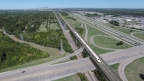 Artist rendering of the Texas Central high-speed bullet train with Dallas in the background. (Photo: Business Wire)
