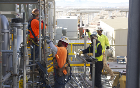 650 full-time construction jobs are expected for a duration of 30 months (Photo: Business Wire)