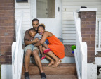 Alaysyah Yayhisrael used Fifth Third's Down Payment Assistance to buy her home with her boyfriend, Julian Robinson, and their 3-year-old son, also named Julian Robinson. (Photo: Business Wire)