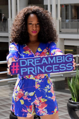 In addition to being one of the first-ever celebrity champions for the UN Foundations's Girl Up Campaign, Monique Coleman (pictured here) was also named the first UN Youth Champion for the International Year of Youth. She then embarked on a 6 month global tour to empower and inspire young people, meet with government officials, and volunteer. The image is part of #DreamBigPrincess, a global photography campaign celebrating inspiring stories from around the world to encourage kids to dream big. Social support for the campaign will drive donations to the United Nations Foundation's Girl Up program. (Photo: Meg Schwartz)
