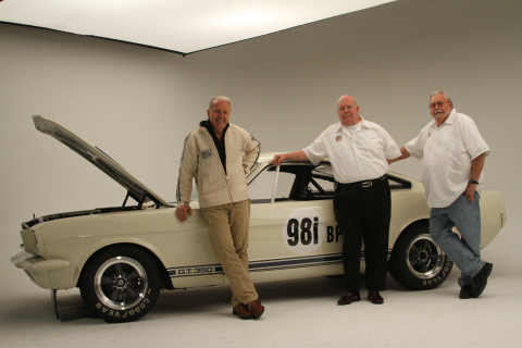 The Original Venice Crew (OVC) is comprised of former Shelby American employees (1962 to 1965) Peter Brock, Jim Marietta and Ted Sutton. (Photo: Business Wire)