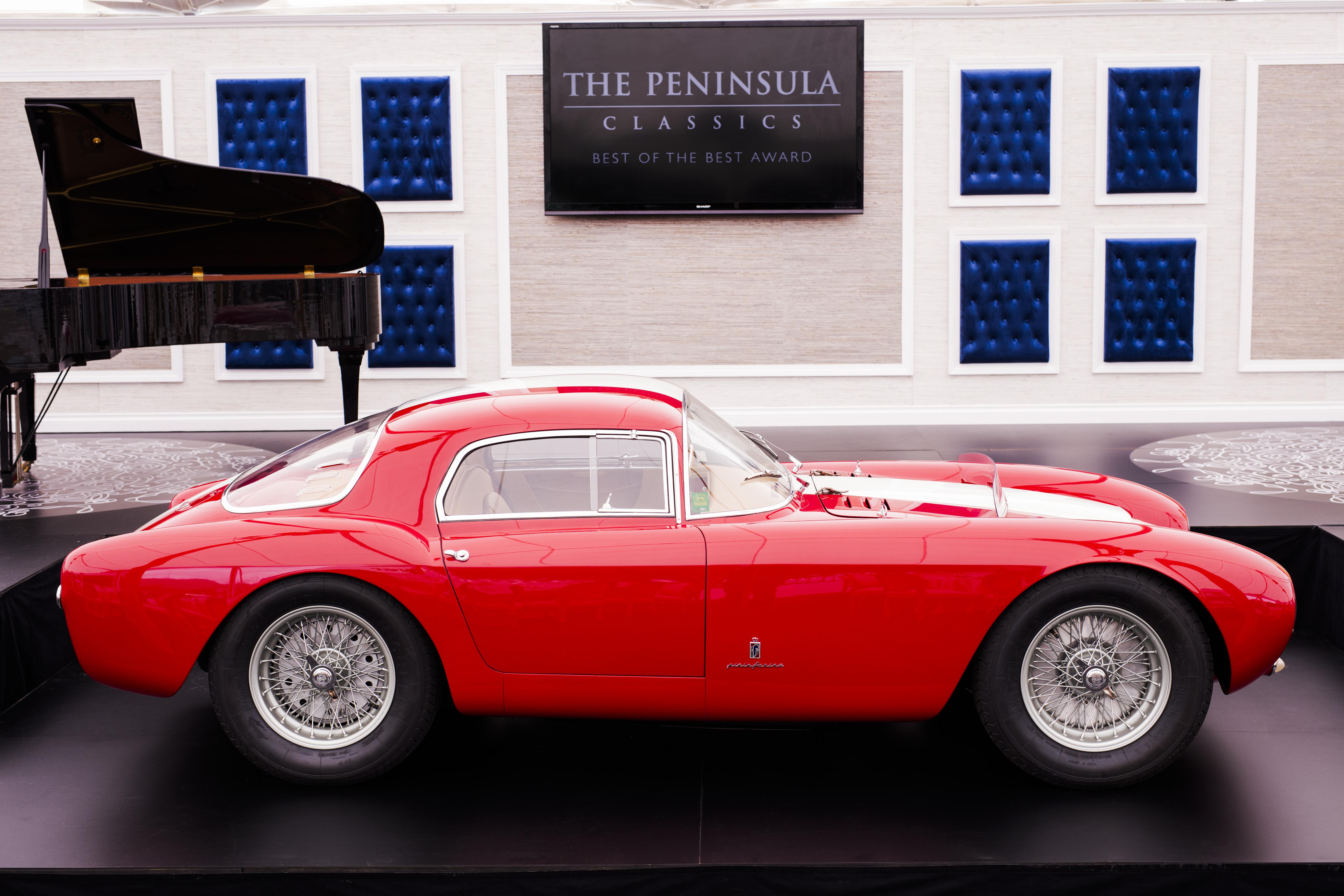 le prix peninsula classics best of the best 2016 revient une maserati a6gcs 53 berlinetta de. Black Bedroom Furniture Sets. Home Design Ideas