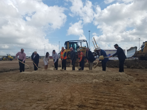 Port Houston and Terminal Link Texas (TLT) break ground for new container yard inside Bayport Container Terminal (Photo: Business Wire)