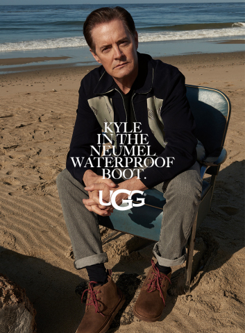 Kyle MacLachlan for the FW17 UGG Collective (Photo: Business Wire)