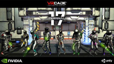 Terminal 17 showing 8 Players in a VRcade Arena (Graphic: Business Wire)