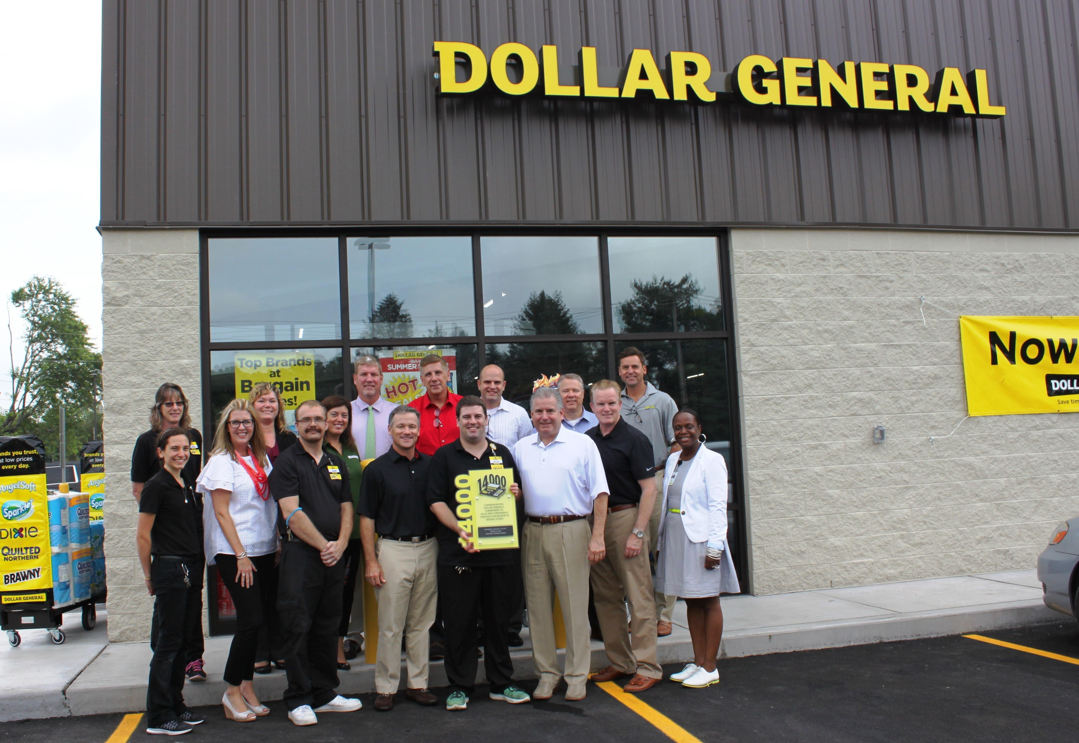 dollar general celebrates 14 000th store grand opening business wire