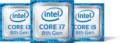 Intel unveils the 8th Gen Intel Core processor family and launches the first of the family on Monday ...