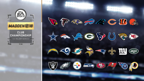 ELECTRONIC ARTS AND NFL LAUNCH THE FIRST MADDEN NFL CLUB CHAMPIONSHIP (Graphic: Business Wire)