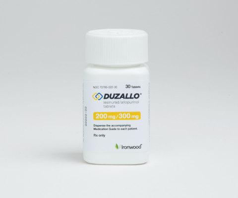 DUZALLO® (lesinurad and allopurinol) (Photo: Business Wire)
