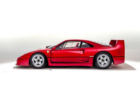 1989 Ferrari F40 (Photo: Silverstone Auctions / Proxibid)