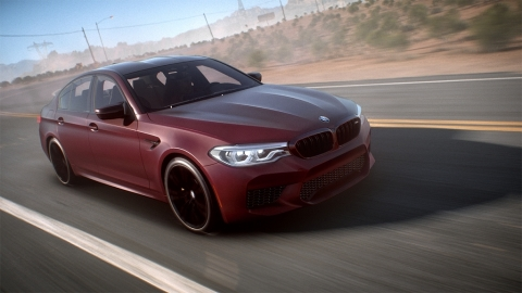 EA and BMW Debut the All-New BMW M5 in Need for Speed Payback (Graphic: Business Wire)