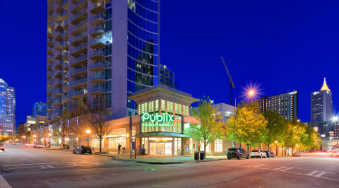 The Plaza Midtown, a 70,000 square foot Publix-anchored center located in the Midtown submarket of Atlanta, GA, acquired by InvenTrust Properties Corp. (Photo: Business Wire)