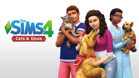 EA Announces the Sims 4 Cats & Dogs Expansion Pack (Photo: Business Wire)