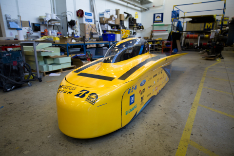 Eaton is sponsoring the University of Michigan's Solar Car team beginning in 2017, providing technical support and products for the vehicle. (Photo: Business Wire)