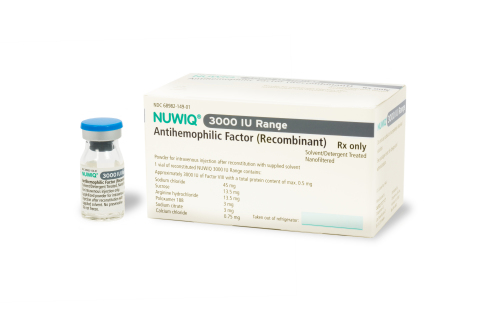 Octapharma USA today announced the U.S. Food and Drug Administration has approved new product strengths for NUWIQ®, including 3000 International Units (pictured). (Photo: Business Wire)