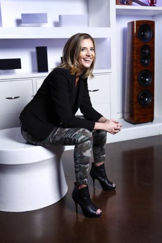 Elyse McKenna, CEO of Thiel Audio (Photo: Business Wire)