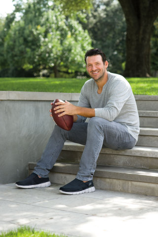 Retired Dallas quarterback Tony Romo signs on with Skechers  (Photo: Business Wire)