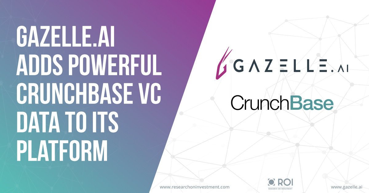 Adding multimedia business intelligence start up gazelle extends adding multimedia business intelligence start up gazelle extends reach of artificial intelligence dataset through licensing agreement with crunchbase platinumwayz