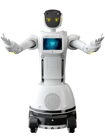 "QIHAN welcomes its next-generation humanoid, Sanbot King Kong, to its portfolio of ""robotics-as-a-service"" solutions. (Photo: QIHAN Technology Co. Ltd.)"