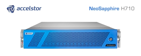 The NeoSapphire H710 is designed to support a wide range of emerging data center applications, including cloud computing, HPC, AI, virtualization, OLTP, and data mining. (Photo: Business Wire)