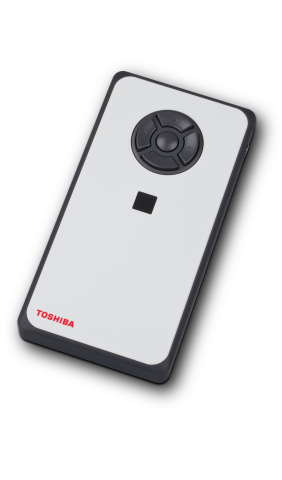 Measuring 6.5 x 3.3 x 0.8 inches thin and weighing 10.9 ounces, Toshiba's dynaEdge Mobile Mini PC fe ...