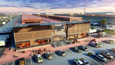 Central Wholesale Market within Dubai Food Park (Photo: AETOS Wire)
