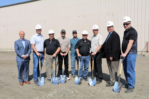 AGCO Parts Regina PDC-Expansion Groundbreaking Ceremony AGCO leadership and dealers from throughout  ...